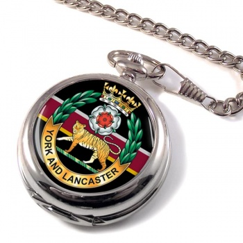 York and Lancaster Regiment Pocket Watch