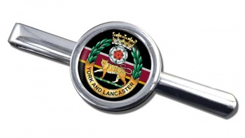 York and Lancaster Regiment Round Tie Clip