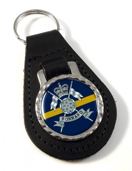 Yorkshire Yeomanry (British Army) Leather Key Fob