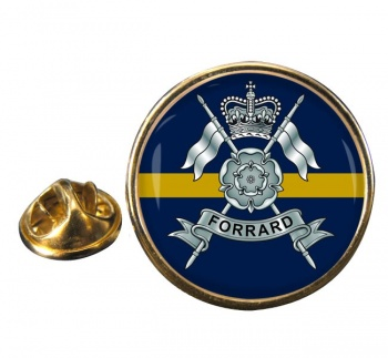 Yorkshire Yeomanry (British Army) Round Pin Badge