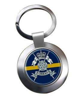 Yorkshire Yeomanry (British Army) Chrome Key Ring