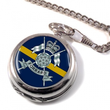 Yorkshire Yeomanry (British Army) Pocket Watch