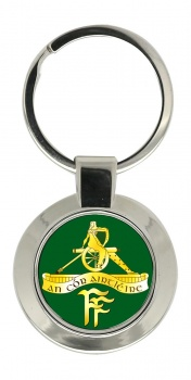 Artillery Corps (Ireland) Chrome Key Ring