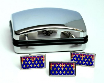 Artois (France) Flag Cufflink and Tie Pin Set