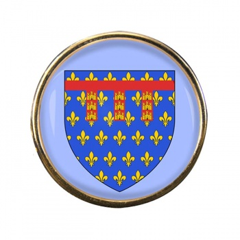 Artois (France) Round Pin Badge