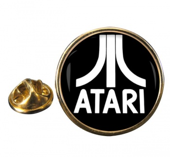 Atari Round Pin Badge