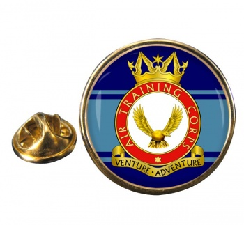 Air Training Corps Round Pin Badge
