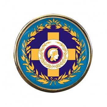 Athens (Greece) Round Pin Badge