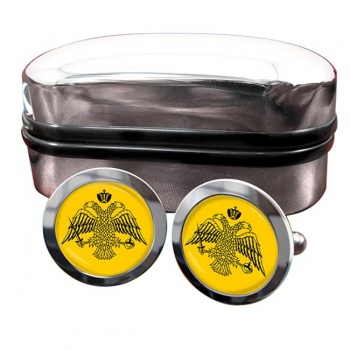 Mount Athos (Greek Orthodox Church) Crest Cufflinks