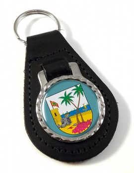 Atlantico (Colombia) Leather Key Fob