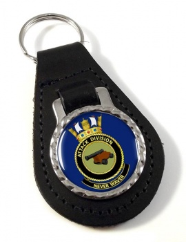 Attack Division R.A.N. Leather Key Fob