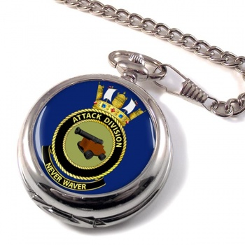 Attack Division R.A.N. Pocket Watch