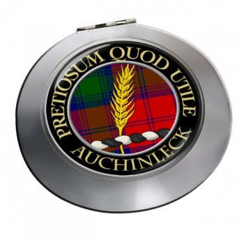 Auchinleck Scottish Clan Chrome Mirror