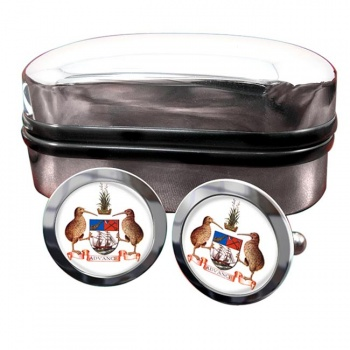Auckland (New Zealand) Crest Cufflinks
