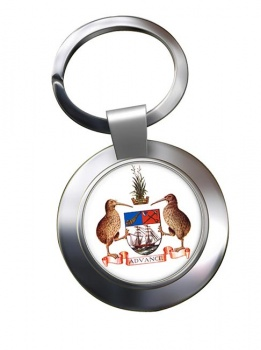 Auckland (New Zealand) Metal Key Ring