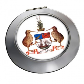 Auckland (New Zealand) Round Mirror