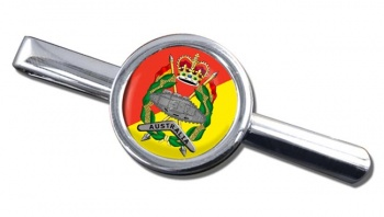 Royal Australian Armoured Corps Round Tie Clip