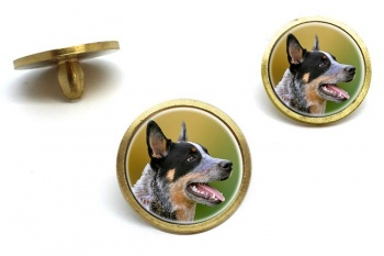 Australian Cattle Dog  Golf Ball Marker Set