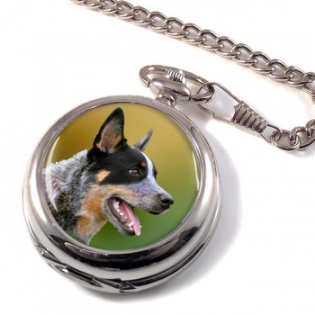 Australian Cattle Dog Pocket Watch