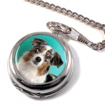 Australian Shepherd Pocket Watch