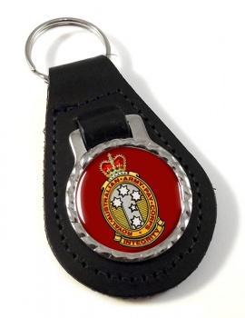 Royal Australian Army Pay Corps Leather Key Fob
