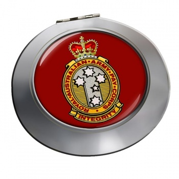 Royal Australian Army Pay Corps Chrome Mirror
