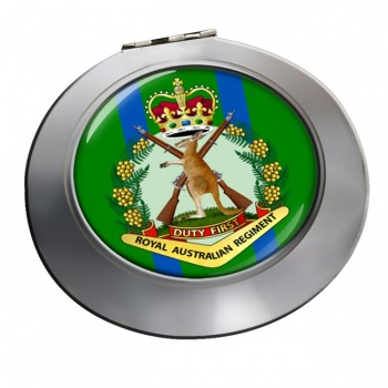 Royal Australian Regiment Chrome Mirror