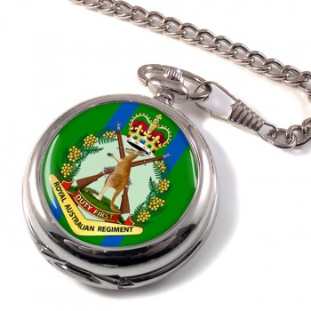 Royal Australian Regiment Pocket Watch