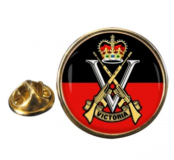 Royal Victoria Regiment (Australian Army)  Round Pin Badge