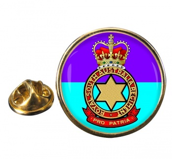 Royal South Australia Regiment (Australian Army) Round Pin Badge