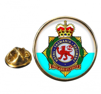 Royal Tasmania Regiment (Australian Army) Round Pin Badge