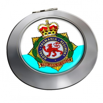 Royal Tasmania Regiment (Australian Army) Chrome Mirror