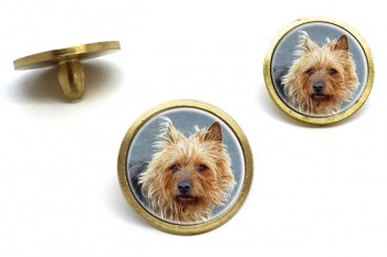 Australian Terrier  Golf Ball Marker Set
