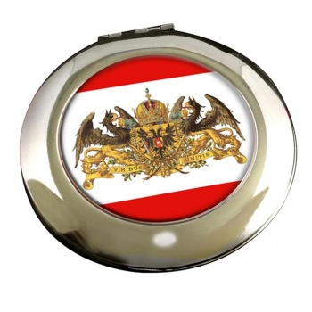The Great Coat of Arms of the Emperor (Austria) Round Mirror