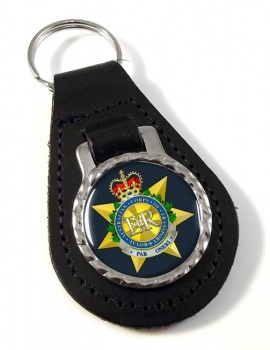 Royal Australian Corps of Transport Leather Key Fob
