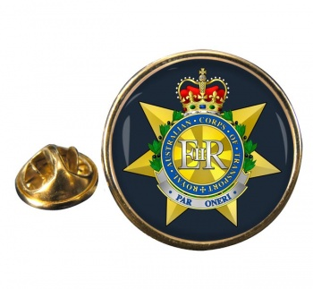 Royal Australian Corps of Transport Round Pin Badge