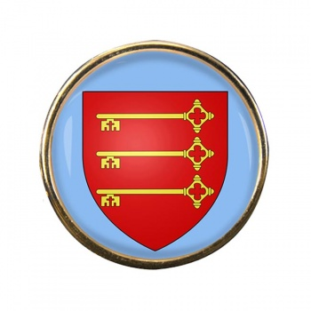 Avignon (France) Round Pin Badge