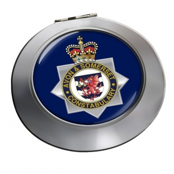 Avon and Somerset Constabulary Chrome Mirror