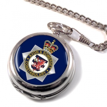 Avon and Somerset Constabulary Pocket Watch