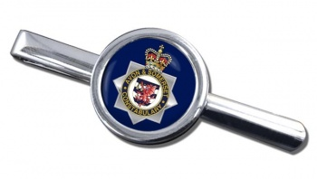 Avon and Somerset Constabulary Round Tie Clip