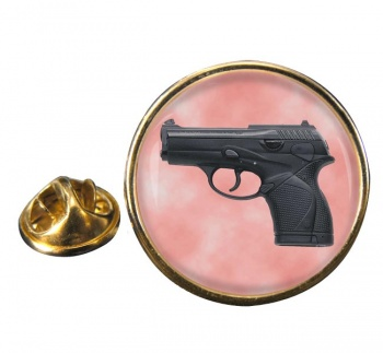 Beretta 9000 Round Pin Badge