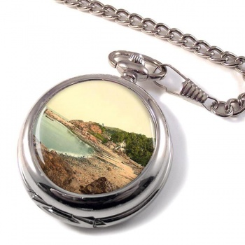 Babbacombe Beach Torquay Pocket Watch
