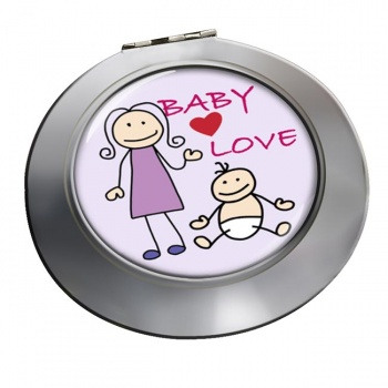 Baby Love Chrome Mirror