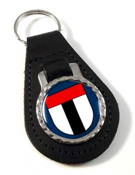 Baden (Switzerland) Leather Key Fob