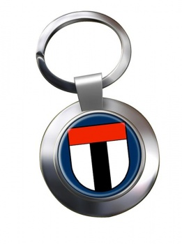 Baden (Switzerland) Metal Key Ring