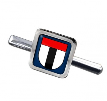 Baden (Switzerland) Square Tie Clip