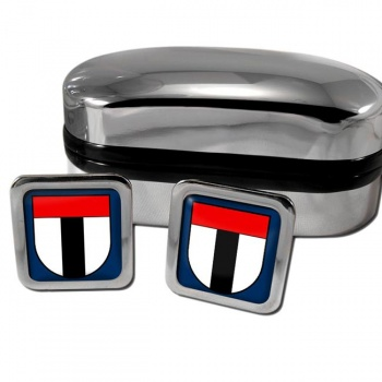 Baden Switzerland Square Cufflinks