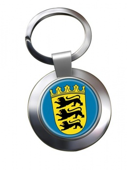 Baden-Wurttemberg (Germany) Metal Key Ring