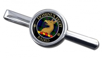 Baird Scottish Clan Round Tie Clip