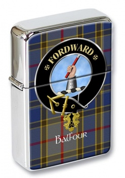 Balfour Scottish Clan Flip Top Lighter